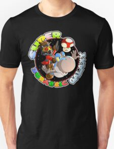 Super Jurassic Galaxy Gaming Adventure Mashup T-Shirt