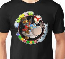 Super Jurassic Galaxy Gaming Adventure Mashup Unisex T-Shirt