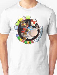 Super Jurassic Galaxy Gaming Adventure Mashup T-Shirt