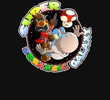 Super Jurassic Galaxy Gaming Adventure Mashup Unisex T-Shirt