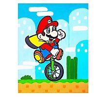 Mario Uni Photographic Print
