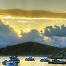 Storm Clouds in the Dodecanese by Tom Gomez