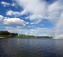 Captain Cook Fountain, Lake Burley Griffin by Ross Campbell