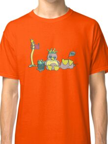 Penguin Capture the flag- defend with snowballs- snack with boredom Classic T-Shirt