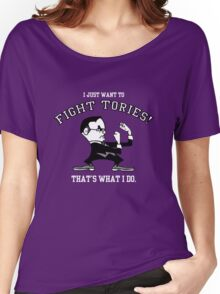 Fight Tories Women's Relaxed Fit T-Shirt