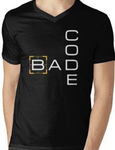 Bad Code Mens V-Neck T-Shirt