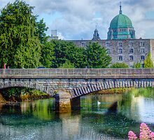 Crossing the Corrib - Galway, Ireland by Mark Richards