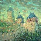 Karlstein Castle / 2012 / oil on canvas by Ivan KRUTOYAROV