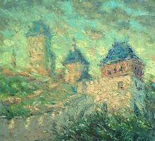Karlstein Castle / 2012 / oil on canvas by Ivan KRUTOYAROV