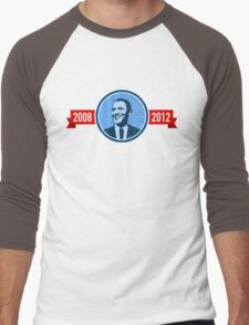 Re-elect Barack Obama Men's Baseball ¾ T-Shirt