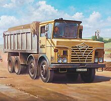 Foden S 50 half-cab tipper. by Mike Jeffries