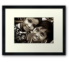 Two Happy Spirits Framed Print