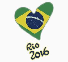 Olympic Heart for Olympic Games in Rio de Janeiro 2016 (B) by superpixus