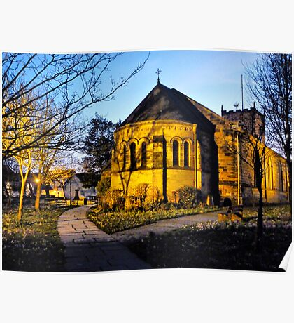 St Chads Church  Poster