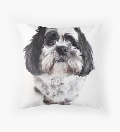 Max is alive and very cute! Throw Pillow
