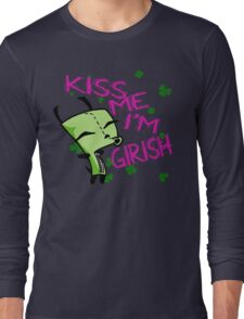 Kiss Me, I'm Girish! (2) Long Sleeve T-Shirt