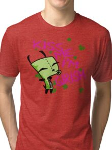 Kiss Me, I'm Girish! (2) Tri-blend T-Shirt