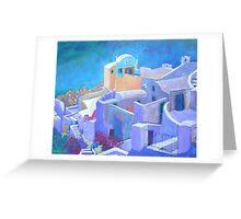 Santorini Greeting Card