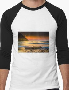 A timber at seaside Men's Baseball ¾ T-Shirt
