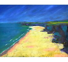 Beach Painting Photographic Print
