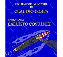 "MOVIE POSTER 13 ""UNA LUNGA VACANZA"" by CLAUDIO COSTA"