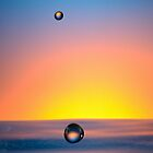 Faling Droplet into water surface by Sami Sarkis
