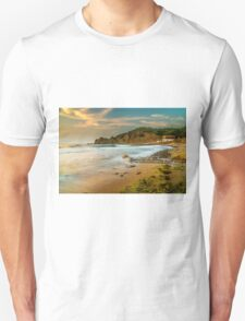 A boat shed at seaside Unisex T-Shirt