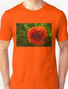 Red Poppy - Vibrant, Bold and Cheerful Unisex T-Shirt