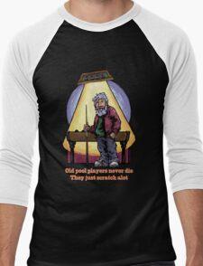 Old Pool Players Men's Baseball ¾ T-Shirt