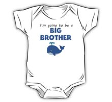 I'm Going To Be A Big Brother One Piece - Short Sleeve