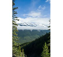 Views from Sulfur Mountain  Photographic Print