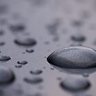 Water Droplet on smooth surface by Yong Hui Tan