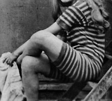 Bathing girl by farmbrough