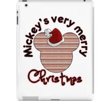 Mickeys Very Merry Christmas iPad Case/Skin