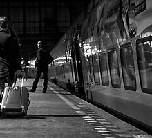 Fast Train to Paris ... by Ell-on-Wheels