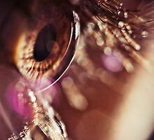 Eye macro with flares by Sabina Dimitriu