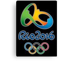 Olympics in Rio 2016 Canvas Print