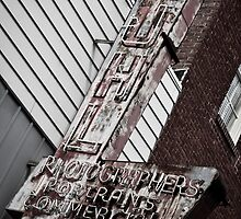 Rusted Photography Sign by Dan Lauf