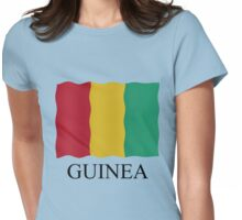 Guinea flag Womens Fitted T-Shirt