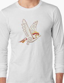 Pidgeotto Pokemuerto   Pokemon & Day of The Dead Mashup Long Sleeve T-Shirt