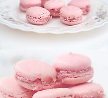 Strawberry Macaroons by Tiffany Trinh
