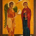 The Annunciation by Magdalena Walulik
