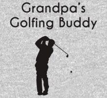 Grandpa's Golfing Buddy One Piece - Long Sleeve