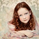 Pre-Raphaelite Redhead on a Pale Afternoon by micklyn