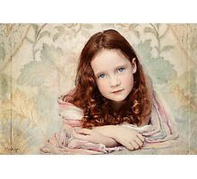 Pre-Raphaelite Redhead on a Pale Afternoon Photographic Print