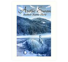 Arctic Swan Art Print