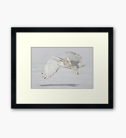 Another Pass Framed Print