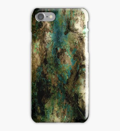 Teal Rust iPhone Case/Skin
