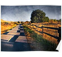 Along Coyote Creek Regional Bicycle Trail Poster