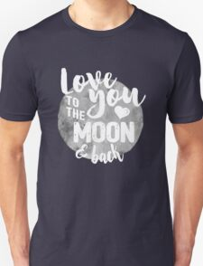 Fly Me to The Moon (b/w) T-Shirt